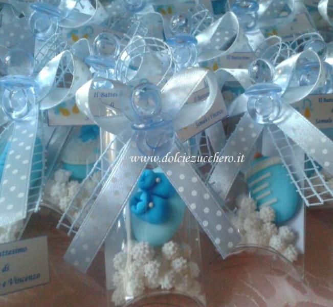 Eccezionale Bomboniere e Segnaposti Battesimo e Nascita bimbo | Dolci e Zucchero DF63