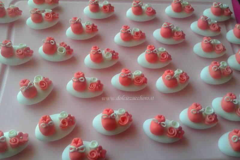 spesso Confetti decorati per Battesimo bimba | Dolci e Zucchero GY95