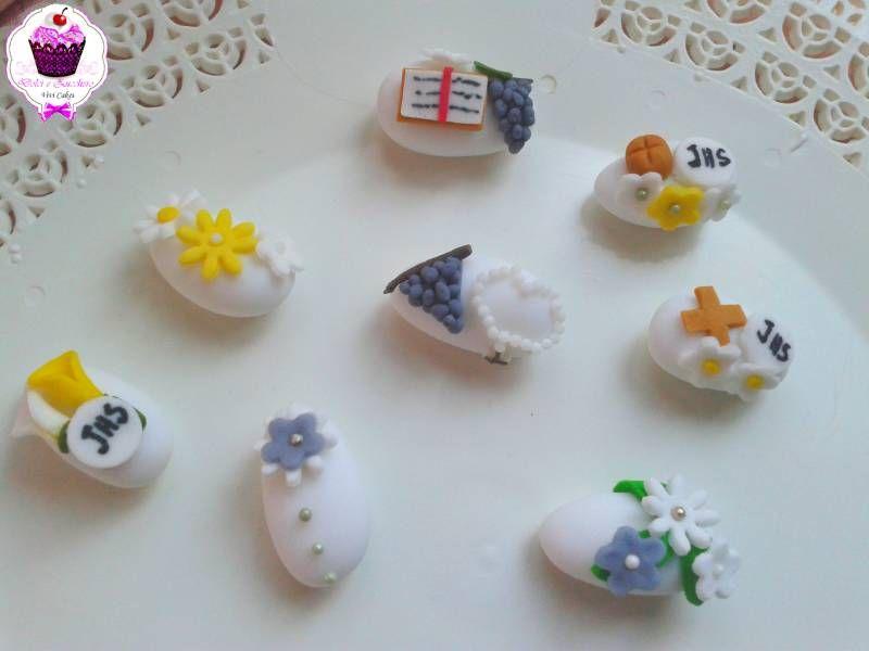 Conosciuto Idee Bomboniere: Confetti decorati segnaposto | Dolci e Zucchero TV87