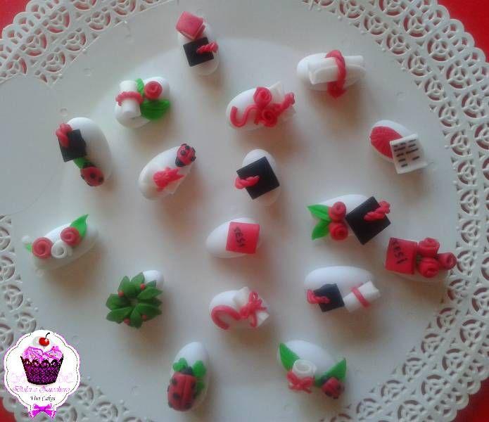 Eccezionale Confetti decorati per Laurea | Dolci e Zucchero QU33
