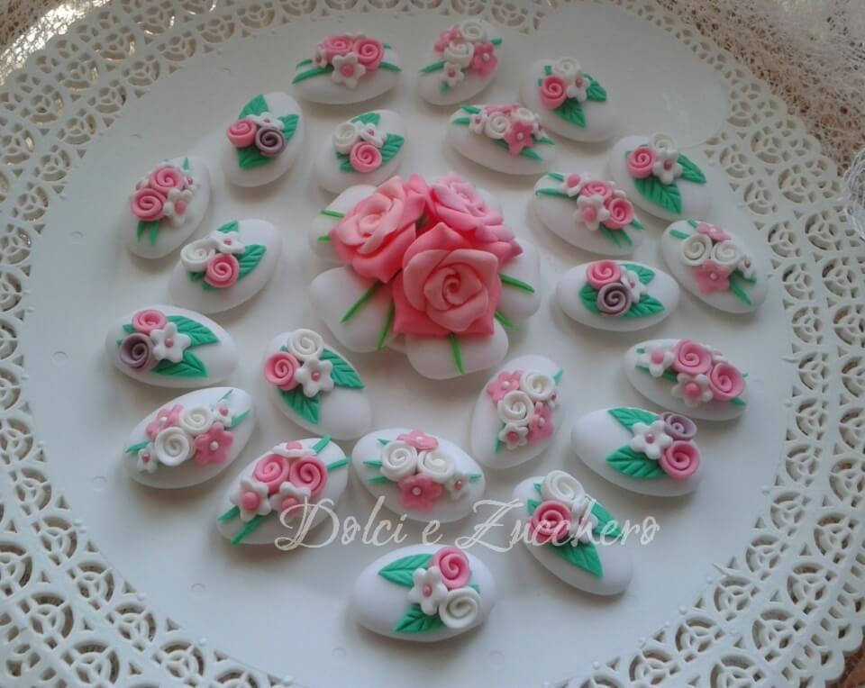 Famoso Dolci e Zucchero | Confetti decorati, Torte decorate, Segnaposti  VQ19