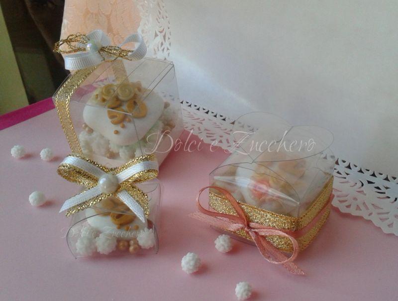 Popolare Idee Segnaposto Confetti decorati per 50 anni di Matrimonio  NY02