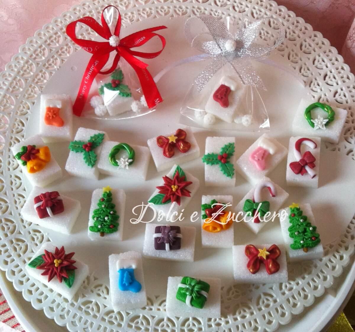 Segnaposto Natalizi Pasta Di Zucchero.Idee Di Natale Di Zucchero Originali Dolci E Zucchero